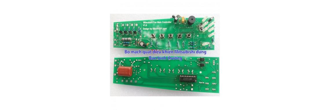 Bộ vỉ mạch quạt điều khiển Mitsubishi LV 16 RT RS