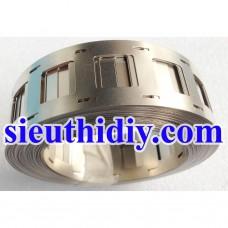 Kẽm hàn cell pin 18650 đôi 2 hàng dầy 0.15-0.2mm rộng 27mm