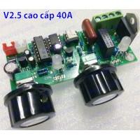Mạch timer dimmer máy hàn điểm, hàn cell V2.5 16A 30A 40A 100A