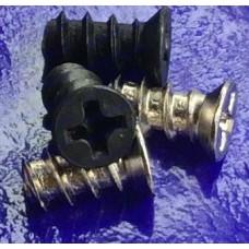 Ốc vít quạt nguồn, quạt thùng case màu đen M5 ren thô dài 10-12mm