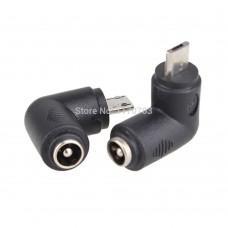 Đầu chuyển 5.5*2.1mm cái sang Micro USB chuẩn B đực