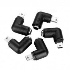 Đầu chuyển 5.5*2.1mm cái sang Mini USB 5pin đực