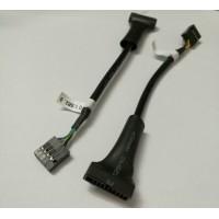 Cáp chuyển USB 2.0 9 pin cái sang USB 3.0 19 pin đực