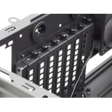 Chắn khe PCI máy tính để bàn sắt sơn tĩnh điện màu đen có lỗ