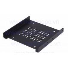 """Khay nhôm SSD 2.5"""" lắp chỗ ổ HDD 3.5"""""""