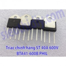 Triac 40A 600V BTA41-600B PHIL TOP3 chính hãng ST