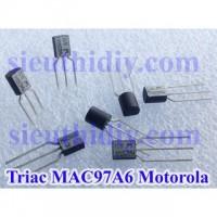 Triac Mac97A6 0.8A 400V To-92 Motorola